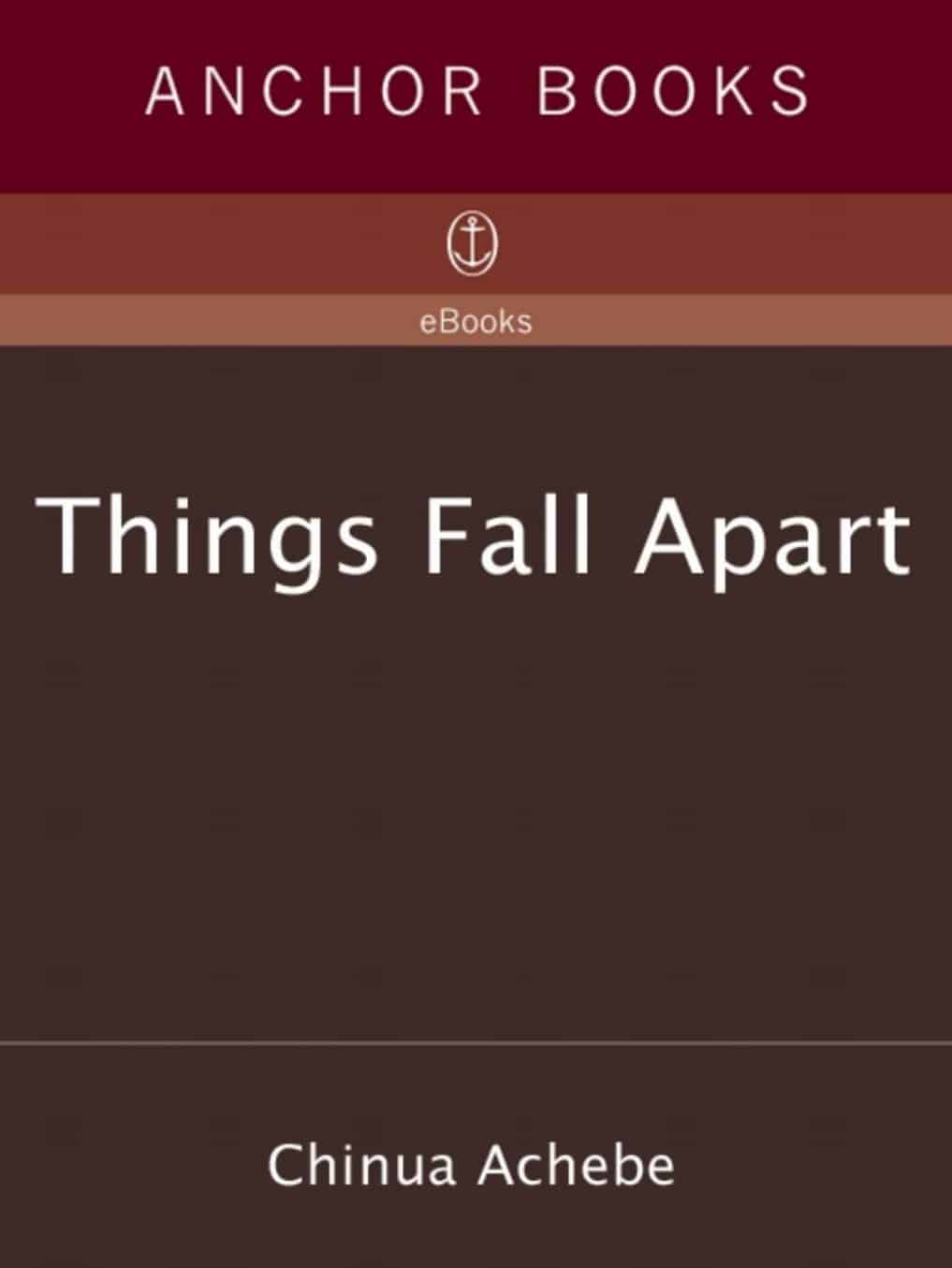 things fall apart pdf